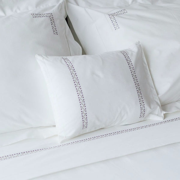 JERUSALEM Bedding bed-linen-size-chart-cm-inches, care-guide-delicate-40, Hand Embroidered