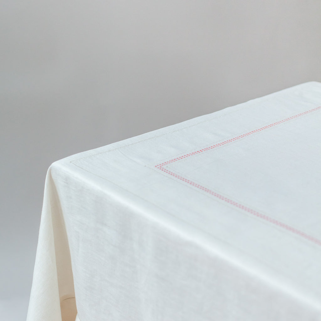 SHASHIKO LINEN TABLECLOTH