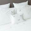 RANIA (DRAGONFLY) Bedding Bed Linen Size Chart (cm/Inches), care-guide-delicate-40, Hand Embroidered