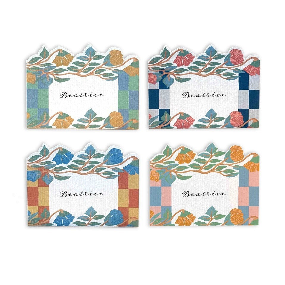 WISSA PLACECARDS (Set of 6) stationery in bloom, SS2021