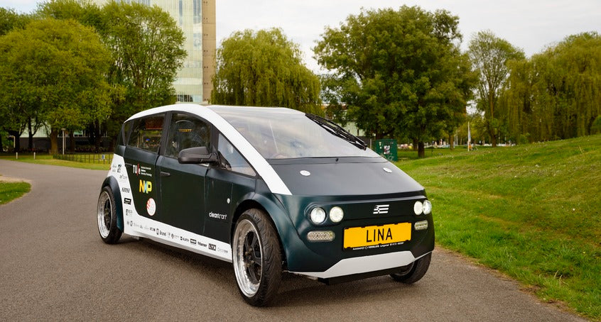 "Dutch University ""grows a car"" from natural materials"
