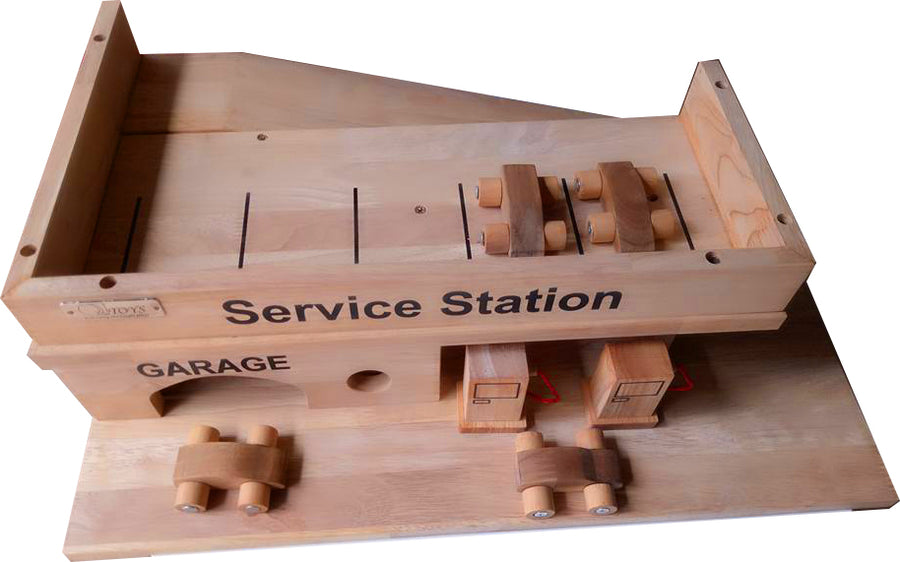 Wooden Service Station
