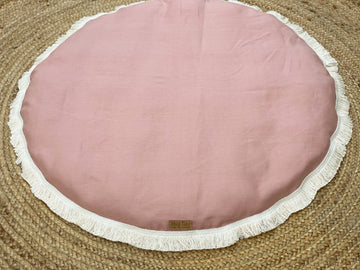 Blush Linen Playmat