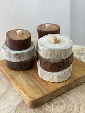 Natural Montessori Stacking Discs