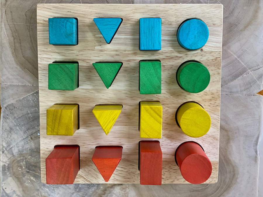 Shape and Size Puzzle/Board