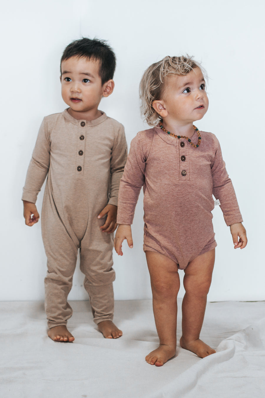 Guava Long Sleeved Bodysuit