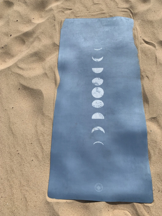 Moon Phase (Dark) - Kids Yoga Mat