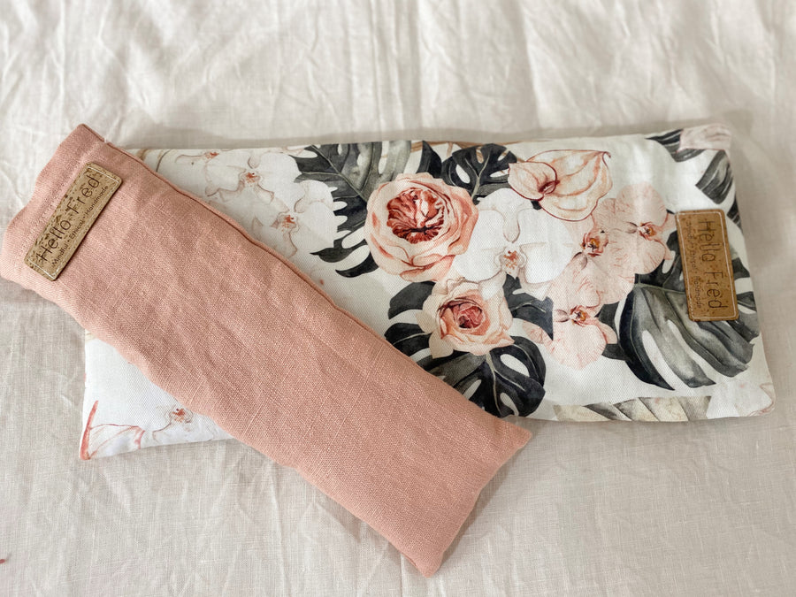 Linen Eye Pillow - Blush