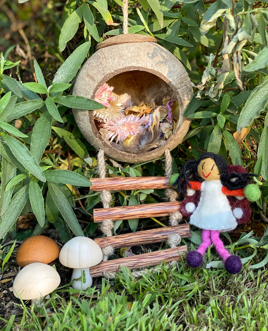 Hanging Fairy House