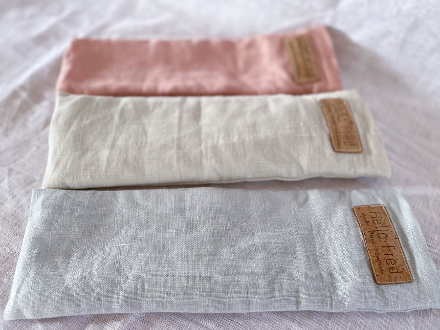 Linen Eye Pillow - Sky