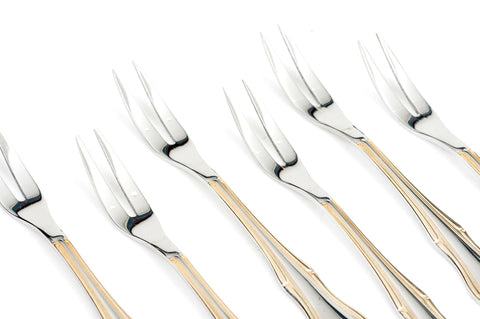 Garpu Daging / Meat Fork Set isi 6 pcs