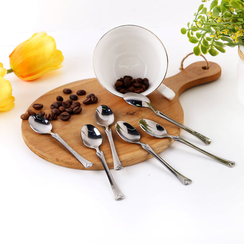 Coffee Spoon / Sendok Kopi Stainless Steel Capodimonte isi 6 pcs