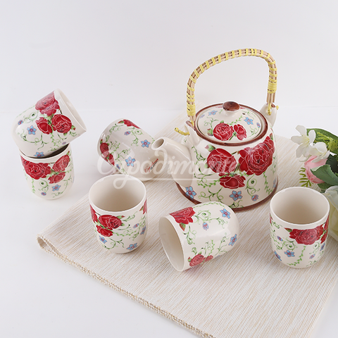 Capodimonte Tea Set Jepang is 8 pcs