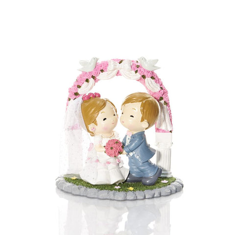 Girl & Boy Couple Figurine Wedding