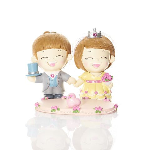 Boy & Girl Couple Figurine Party