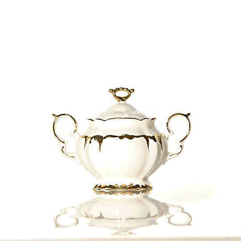 Tea Set Keramik Capodimonte 17 pcs