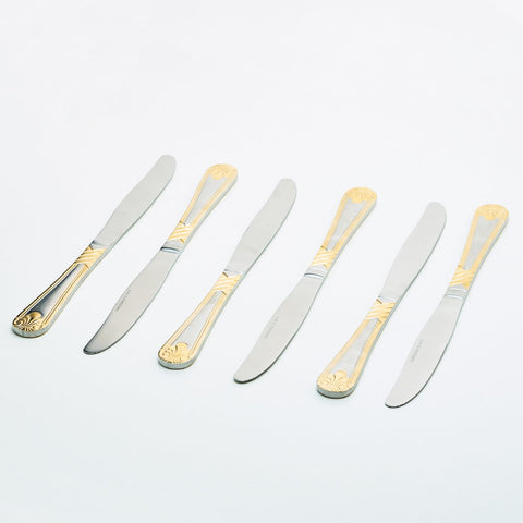 Dinner Knife / Pisau Makan Capodimonte isi 6 pcs