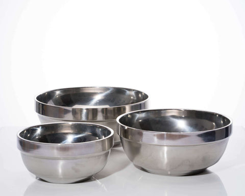 Mangkuk Stainless (18CM)/ Bowl Double Insulasi/ Mixing Bowl