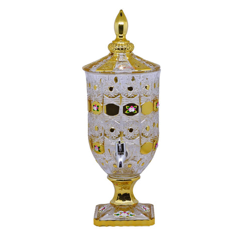 Dispenser Kaca Capodimonte Gold