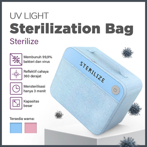 Strogen UV Bag Sterilizer Disinfectant| Membunuh 99.9% Bakteri Virus