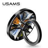 iPhone and Samsung Spinner Metal Ring Stand from USAMS