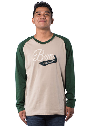 B.U.M Equipment Men Round Neck Tee-L/S (MD. KHAKI)