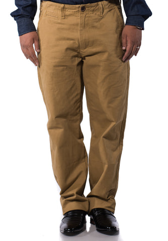 B.U.M Equipment Men Chino L/Pant (DK KHAKI)