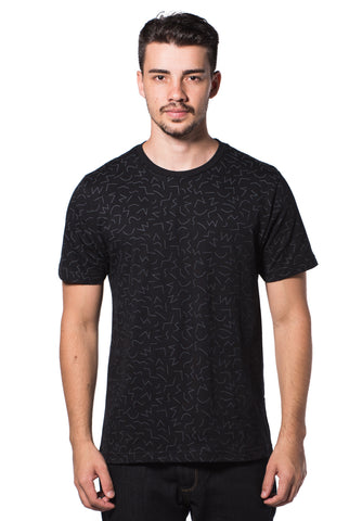 B.U.M Equipment Men Round Neck Tee (MD. GREY)