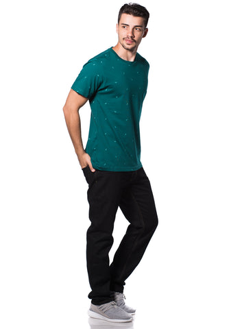 B.U.M Equipment Men Round Neck Tee (MD. GREEN)
