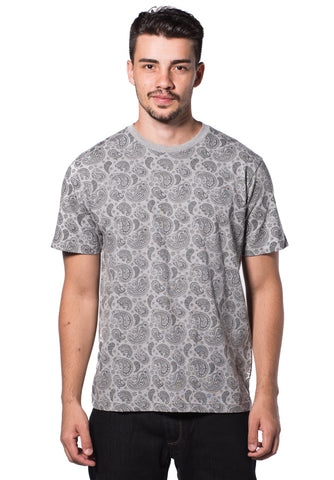 B.U.M Equipment Men Round Neck Tee (LT. GREY)