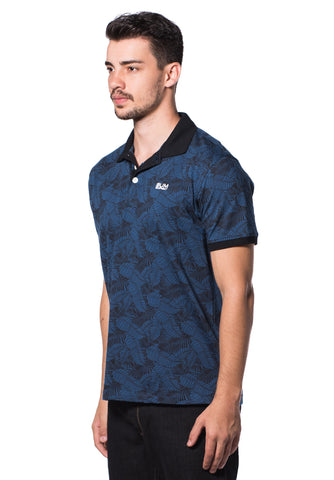 B.U.M Equipment Men Polo Tee-S/S (MD. BLUE)