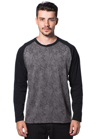 B.U.M Equipment Men Round Neck Tee-L/S (MD. GREY)