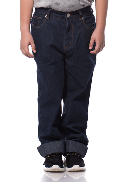 B.U.M Equipment Children Jeans-Regular (DK. BLUE)