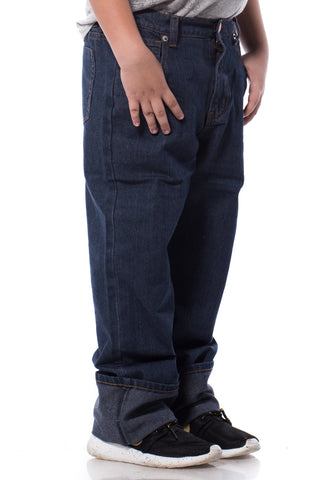 B.U.M Equipment Children Jeans-Straight (DK BLUE)