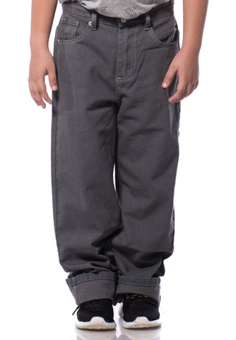 B.U.M Equipment Children Jeans-Regular (MD GREY)