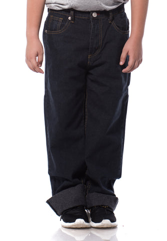 B.U.M Equipment Children Jeans-Regular (MD BLACK)
