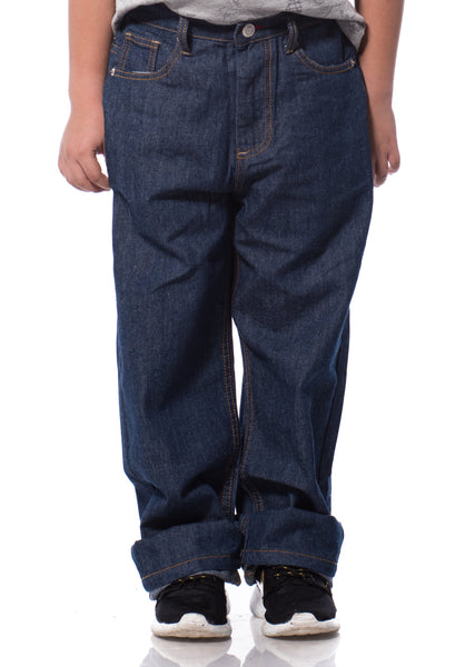 B.U.M Equipment Children Jeans-Regular (MD BLUE)