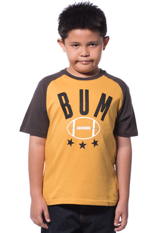 B.U.M Equipment Children Round Neck S/S (MD ORANGER)