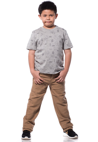 B.U.M Equipment Children Jeans-Straight 7x7 (MD KHAKI)