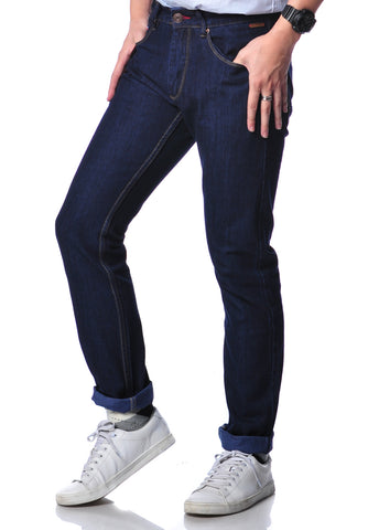 B.U.M Equipment Men Jeans-Slim (MD BLACK)