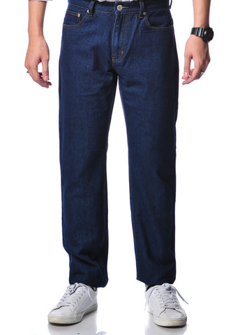 B.U.M Equipment Men Jeans-Straight (MD BLUE)