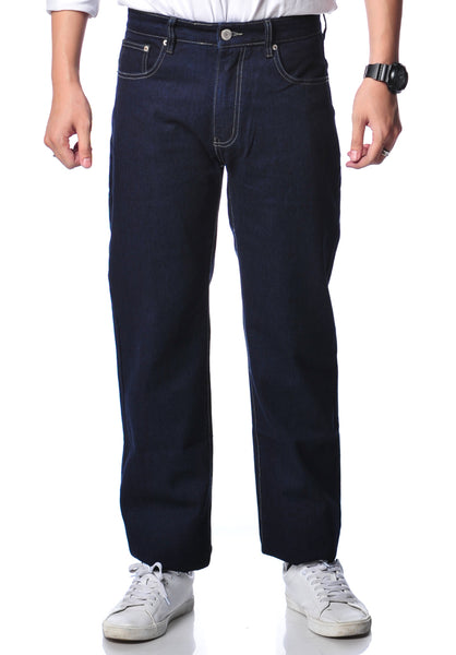 B.U.M Equipment Men Jeans-Regular (MD BLUE)