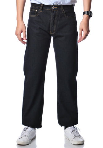 B.U.M Equipment Men Jeans-Regular (MD BLACK)