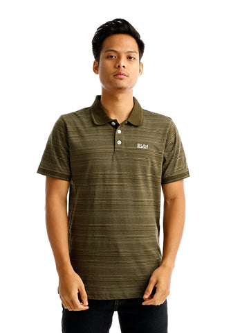 B.U.M Equipment Men Polo Tee-S/S (MD. GREEN)