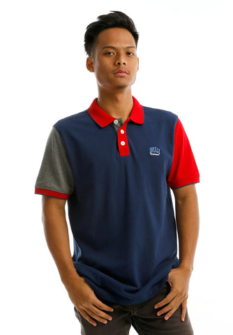 B.U.M Equipment Men Polo Tee-S/S (DK. BLUE)