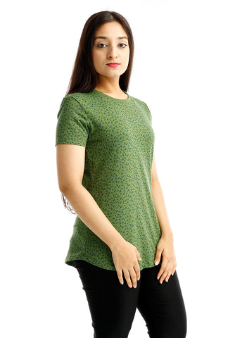 B.U.M Equipment Ladies Round Neck Tee S/S (LT GREEN)
