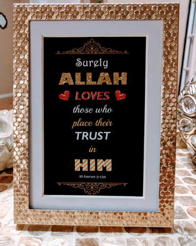 Trust In Him Cards / Party Favors