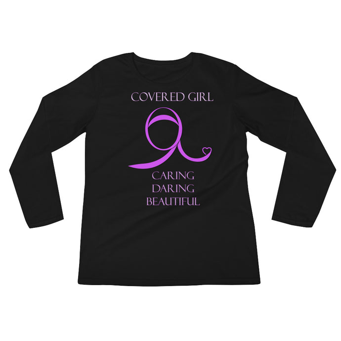 Covered Girl Long Sleeve Black