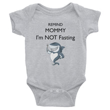 Remind Mommy I'm Not Fasting Onesie