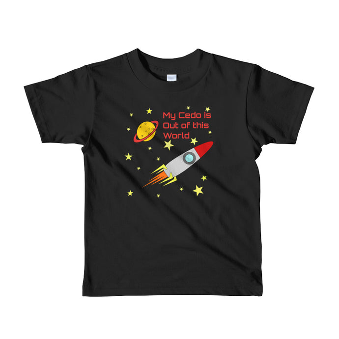 Cedo Out of this World Kids Shirt